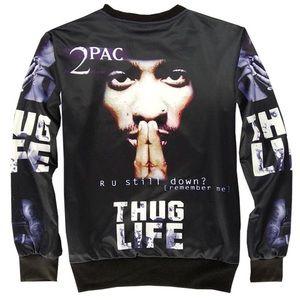 Tupac unisex Graphic jumpsuit